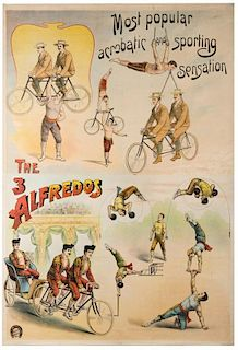 The Three Alfredos. Most Popular Acrobatic and Sporting Sensation.