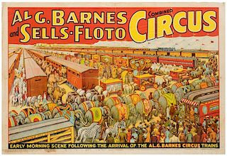 Al G. Barnes and Sells-Floto Combined Circus.