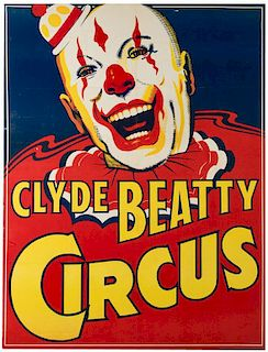 Clyde Beatty Circus.