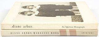 2 Diane Arbus Monographs