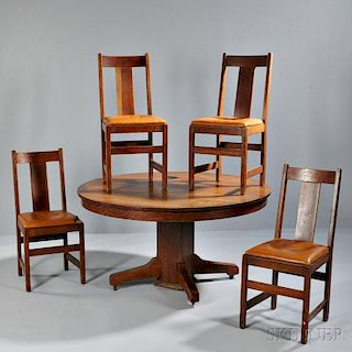 Lifetime Table and Four Chairs