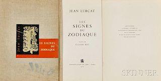 Jean Lurcat (1892-1966) and Claude Roy (1915-1997)     Les Signes du Zodiaque