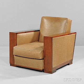 Art Deco Dominique Club Chair