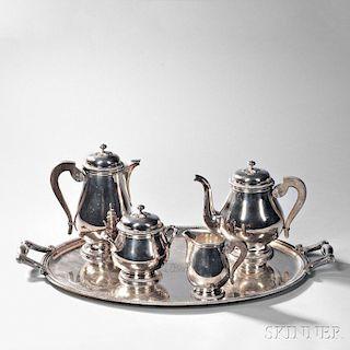 Christofle Coffee and Tea Service