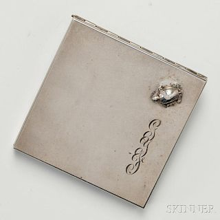 Georg Jensen Inc. Compact with Turtle