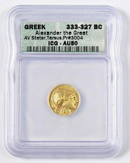 Alexander the Great AV Stater, Tarsus Mint