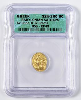 Babylonian Satraps AV Daric, Babylon Mint