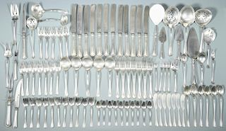 Reed and Barton Sterling, Clovelly, 94 pcs