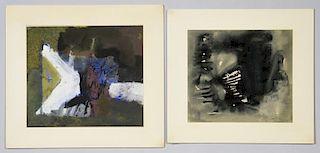 2 Frank Hodgkinson Works on Paper
