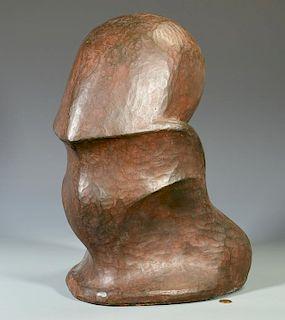 Gabriella Crespi Abstract Bronze Sculpture