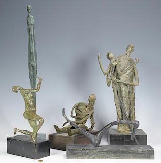 5 Sculptures, Manner of Giacometti