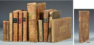 12 Books w/ rare Binder, Bookseller Tickets, TN, VA