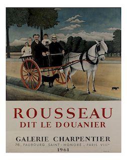 Poster, Rousseau 1961