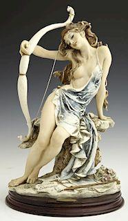 """Giuseppi Armani, """"Diana,"""" 1994, porcelain figure,"""