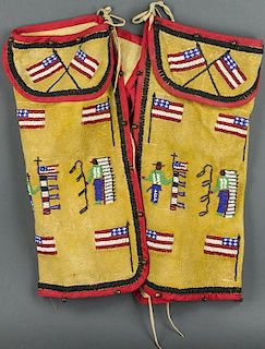 Contemporary Plains Child's Chaps (ca. 1950's)