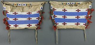 Lot of 2 bags (Possible Sioux/Cheyenne ca. 1809 - 1910)