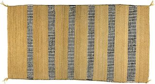 Navajo Chinle Two Faced Saddle Blanket (ca. 1960's)