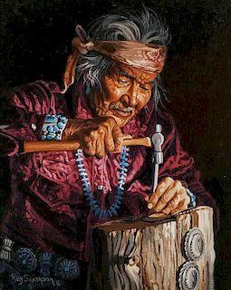 Ray Swanson | Navajo Jewelry Maker