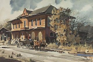 James Boren | Old Cleburne Depot