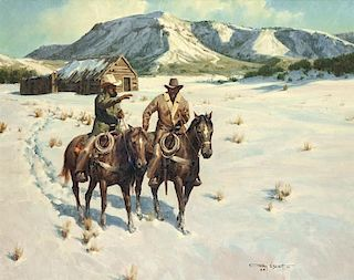 Gary Niblett | The Winter Cabin