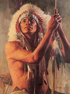David Mann | Prairie Warrior
