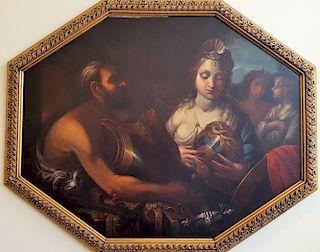 Italian Old Master Mythological Francesco Solimena, after.