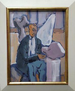 Max Arthur Cohen portrait Hans Arp