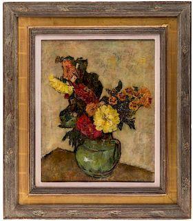 Simkha Simkhovitch (1893-1949) Russian Painting Floral