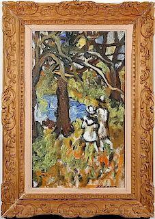 Sacha Moldovan (Russian- American 1901-1982) Painting