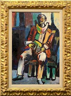 Isaac Pailes Russian-French painting impressionist modern