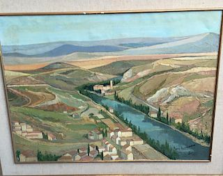 Florentino Soria Spanish Impressionist Painting
