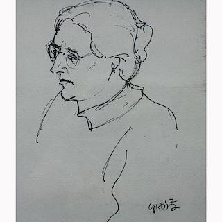 After George Ehrenfried Grosz  (1893 - 1959)