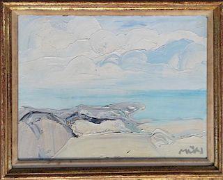 Roger Muhl  (1929-2008) French modern oil painting