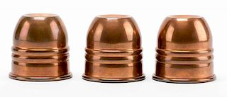 Copper Paul Fox Cups.