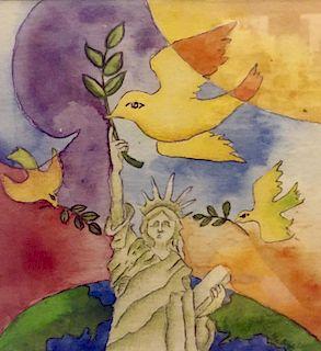 Pieces for Peace, CITYarts, Liberty