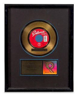 A Tone Loc: Wile Thing RIAA Certified Gold Presentation Album 16 3/4 x 12 5/8 inches.