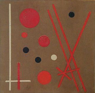 Lolo Soldevilla (1901-1971) Cuban Modern Abstract