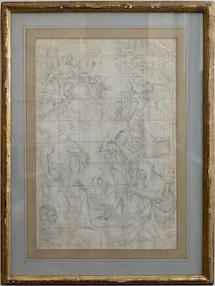 Italian Old Master 17th century drawing