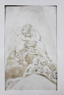 Old Master Drawing French School