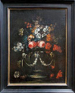 Italian Old Master still life floral Baroque