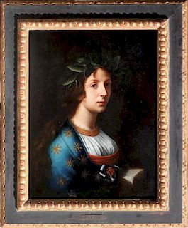 Old Master Painting Italian Carlo Dolci, after