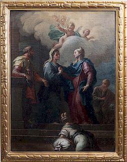 School of Carlo Maratta, The Visitation