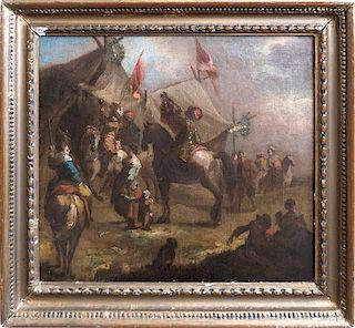Dutch Old Master Philips Wouwerman attr