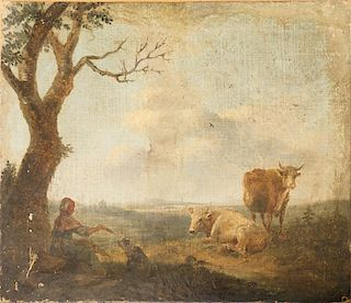 French School 19th cent.? landscape painting