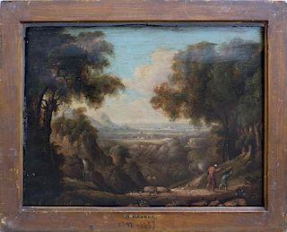 British Landscape William Havell  (1782 - 1857), attr.