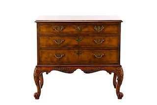 George I Style Walnut Chest, Baker Stately Homes