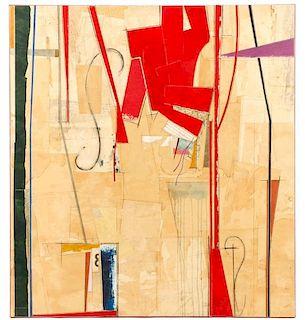 """John Pavlicek, """"R & B Series X"""", Collage"""