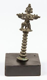 Bronze Garuda Bell Top, Ca. 1800