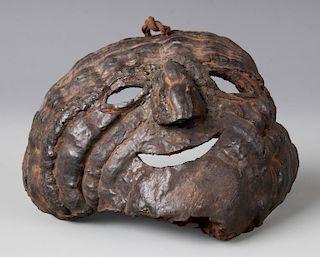 Arboreal Mushroom Shaman's Mask, Middle Hills, Nepal