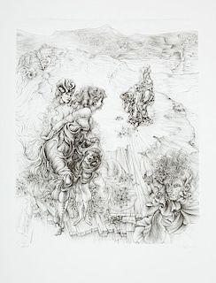 Hans Bellmer (1902-1975): Landscape 1800